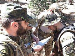 Vojáci z Náměště cvičili v horách Nového Mexika