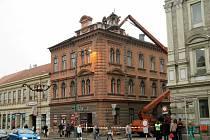 V Jejkovské bráně v Třebíči bude nyní monitorovat pohyb v ulicích Leopolda Pokorného, Smila Osovského a Soukenická, dohlédne až za poštu k lávce pro pěší.