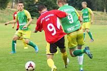 Rapotice (v zeleném) vyšly ve Štěpánově bodově naprázdno.