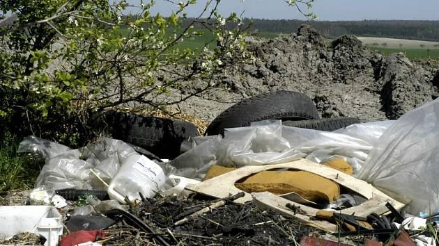 Několikatunová hromada odpadu a nepříjemný zápach. To je typický obraz skládek.