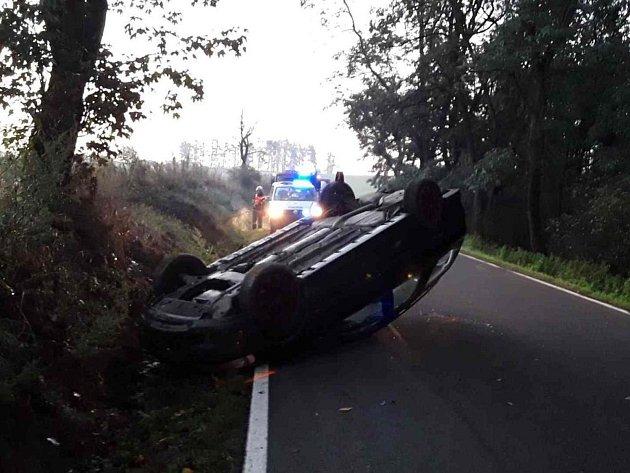 Nehoda u Sokolí.
