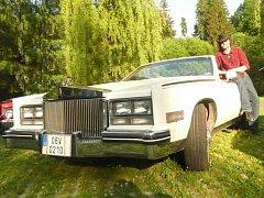 Vladimír Pisk a jeho Cadillac Eldorado Biarritz 1984.