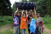 Letní tábory bývají rozmanité.
