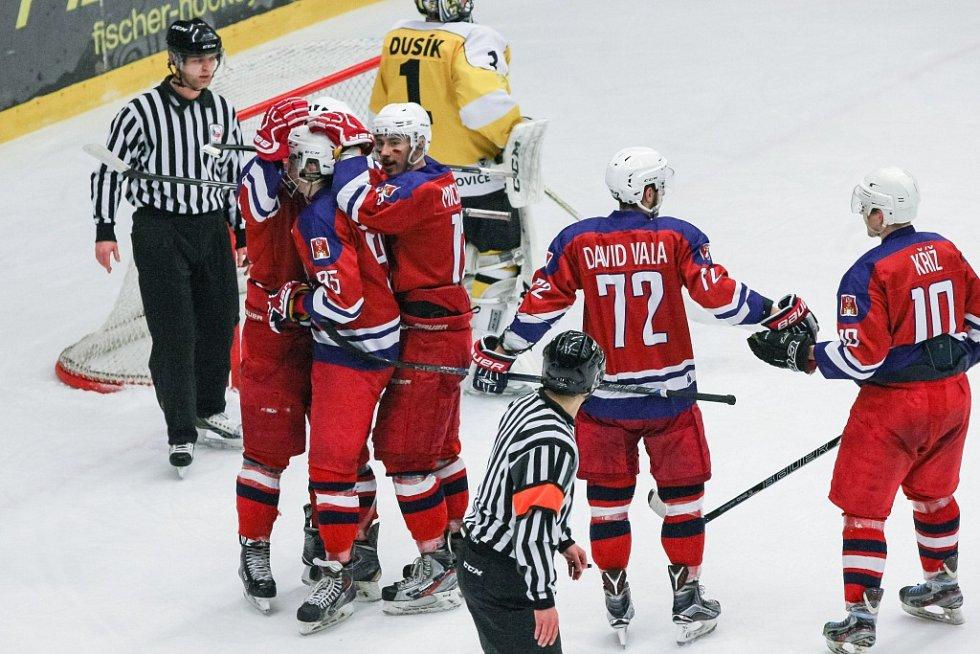 Strhující podívanou nabídlo první semifinálové utkání druhé ligy mezi druholigovými hokejisty Havlíčkova Brodu a Moravských Budějovic.