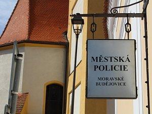 Služebna Městské policie v Moravských Budějovicích.