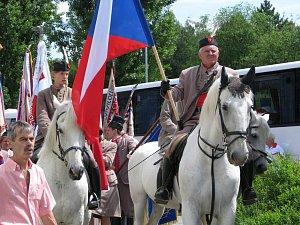 Krajský sokolský slet v Třebíči v roce 2012.
