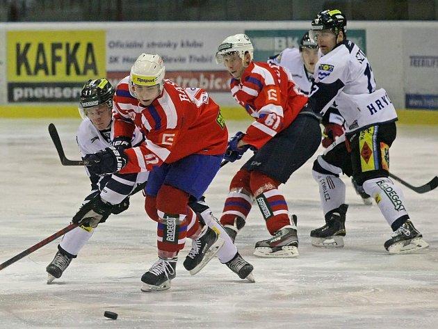 Stejně jako v prvním utkání dokázala Třebíč skvěle využívat přesilovky. Havířov sice vedl už po 43 sekundách, ale Horácká Slavia čtyřmi góly v početní převaze skóre otočila.