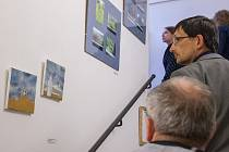 Výstava Open Performance v galerii Tympanon na třebíčském zámku.