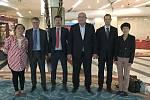 Delegace z Kraje Vysočina v čínské provincii Heilongjiang.