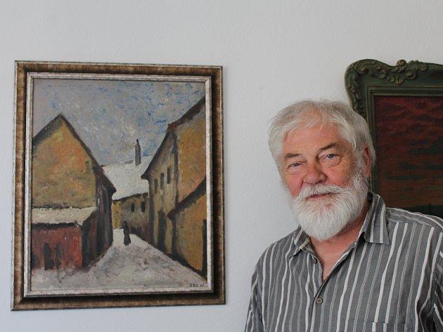 Bývávalo. Tento obraz má Heřman rád, visí mu na radnici nad stolem. Namalovala ho třebíčská Židovka, která nakonec zahynula v koncentráku. A vypodobnila na něm dnešní Blahoslavovu ulici.