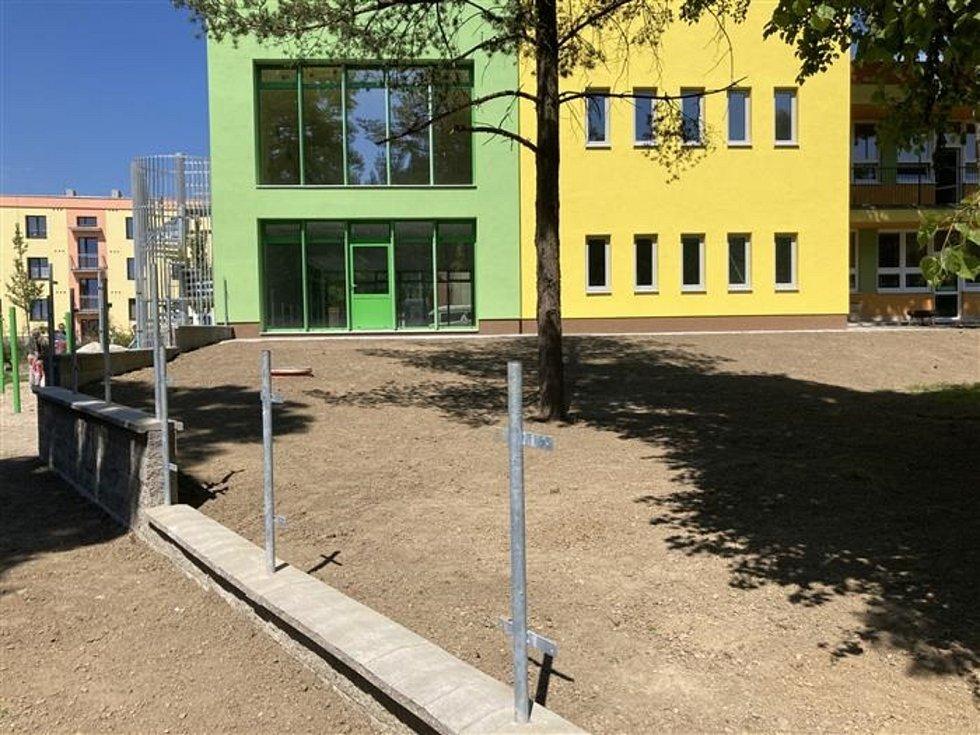 Přístavba mateřské školy je dokončená.
