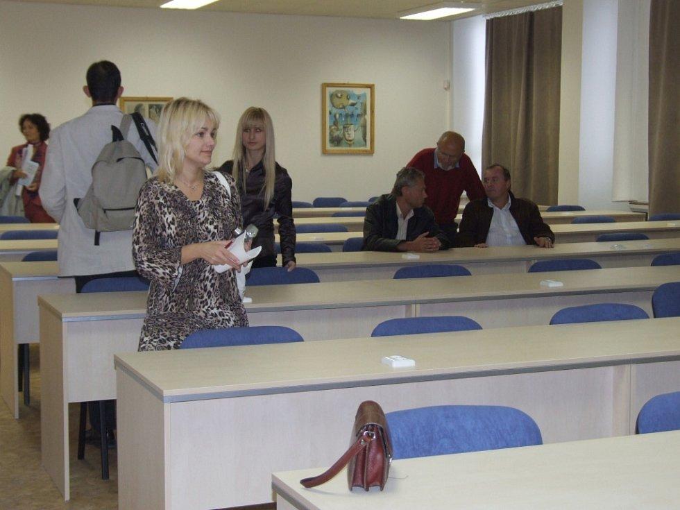 Západomoravská vysoká škola představila zrekonstruovanou aulu.