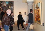 Slavnostní vernisáž výstavy Franta ve sbírkách soukromých sběratelů.