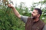 Lesní správce Aleš Rusek