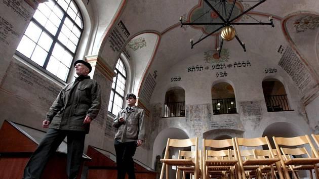 Zadní synagoga.