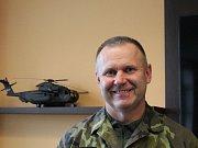 Náčelník štábu 22. základny vrtulníkového letectva AČR plukovník Alois Matýzka.
