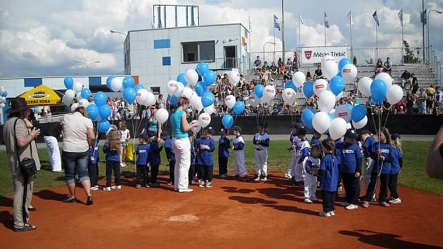 Slavnostní otevření baseballového areálu Na Hvězdě.