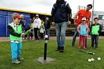 Náborový den baseballového klubu Nuclears Na Hvězdě vTřebíči