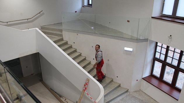 Rekonstrukce bývalého Kina Moravia finišuje