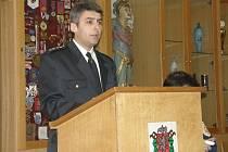 STAROSTA. Na snímku nově zvolený starosta moravskobudějovického okrsku Drahoslav Bastl.