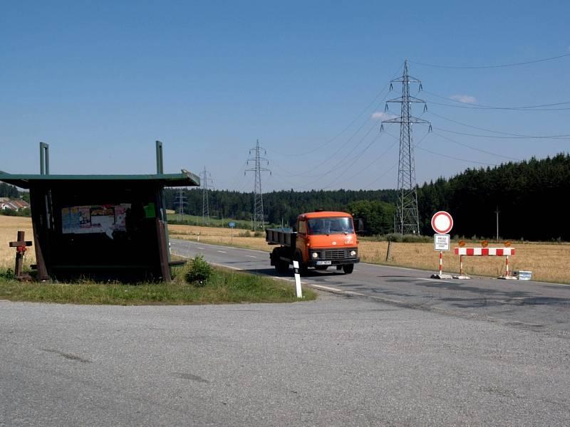 Na cestě do Jihlavy čeká na řidiče uzavírka.