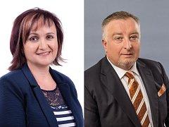 Do druhého kola senátních voleb v obvodu 53 Třebíč postupuje Hana Žáková (STAN) a Miroslav Michálek (ANO 2011).
