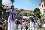 Folkové prázdniny v Náměšti nad Oslavou