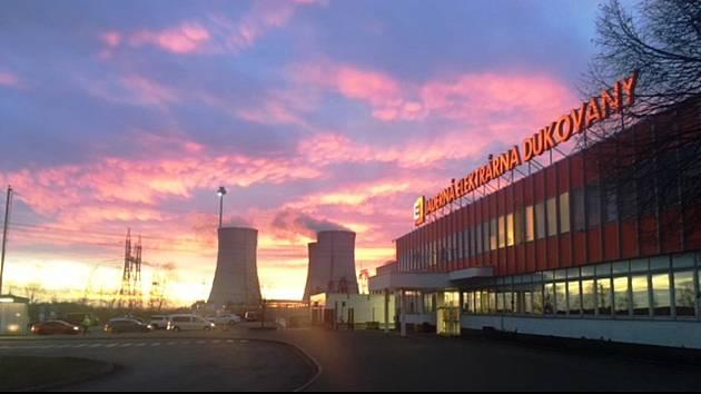 Na Štědrý den začne v Dukovanech odstávka čtvrtého výrobního bloku