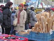 Vánoční trhy v Borovině.