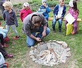 Mateřská školka Na Hradě otevřela svoji přírodní zahradu.