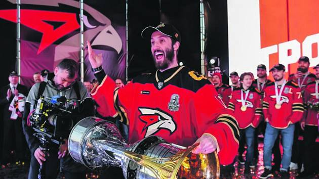 Takto Šimon Hrubec slavil triumf v KHL