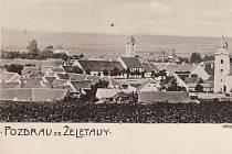 Pozdrav ze Želetavy z roku 1899.