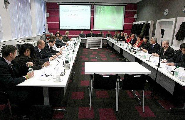 Zasedání třebíčských zastupitelů. Ilustrační foto.