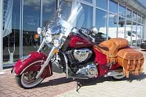 Motocykl Indian v novém provedení.
