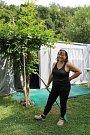 Veřejné tábořiště Fiola pod Mohelnem má své štamgasty. Jezdí sem už od roku 1983 paní Bohuslava Polachová.