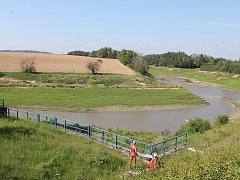 Nádrž Markovka je vypuštěná od roku 2016.