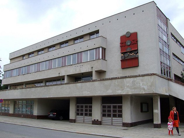 Bývalá budova České spořitelny.