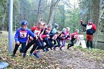 Dětští závodníci letos převažovali.