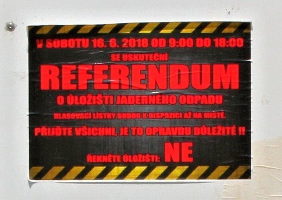 Referendum v Jaroměřicích nad Rokytnou, hlasovací místnost ve Špitálu.