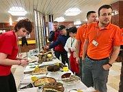 Charitativní snídaně v dukovanské jaderné elektrárně.