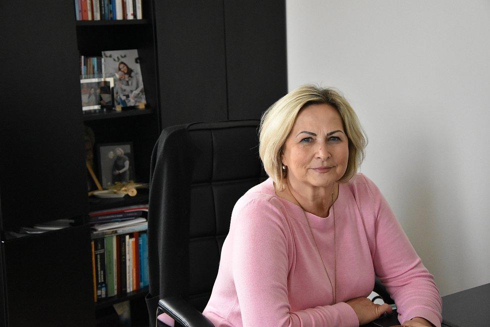 Starostka Hrotovic Hana Škodová