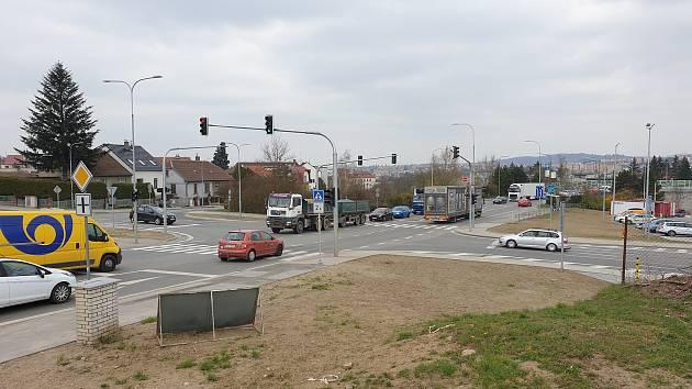 Kamerový systém bude dohlížet na křižovatku ulic Hrotovická a Kosmákova.