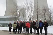 Během čtyř únorových víkendů do střeženého prostoru elektrárny vstoupilo celkem 116 zájemců.