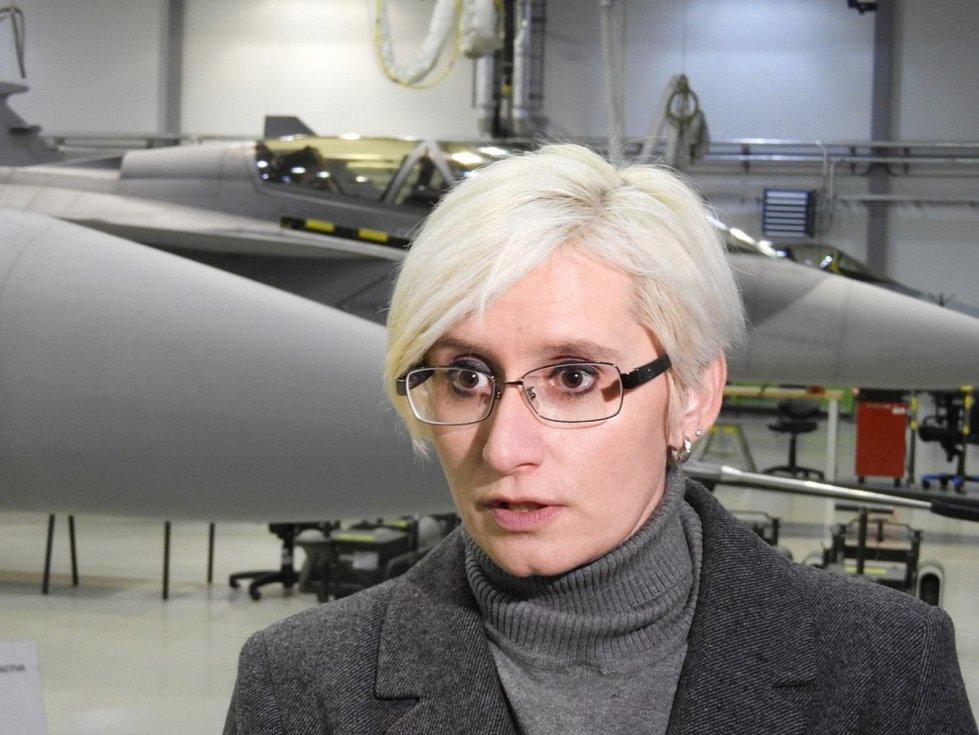 Ministryně obrany Karla Šlechtová.