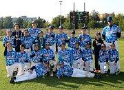 Titul mistrů České republiky vybojoval baseballový tým starších žáků do 11 let vedený mladým trenérem Štěpánem Chytkou.