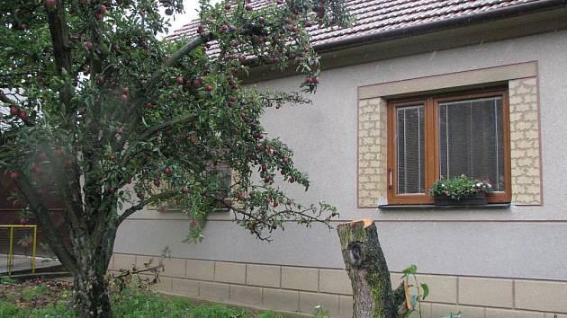 Dům manželů Fajmonových ve Lhánicích, který nechal pro sebe koupit ČEZ.