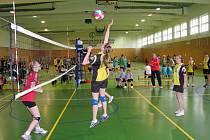Jubilejní, již 10. ročník Srovnávací soutěže sportovních středisek v minivolejbale dívek proběhl v pátek 14. května v Třebíči.