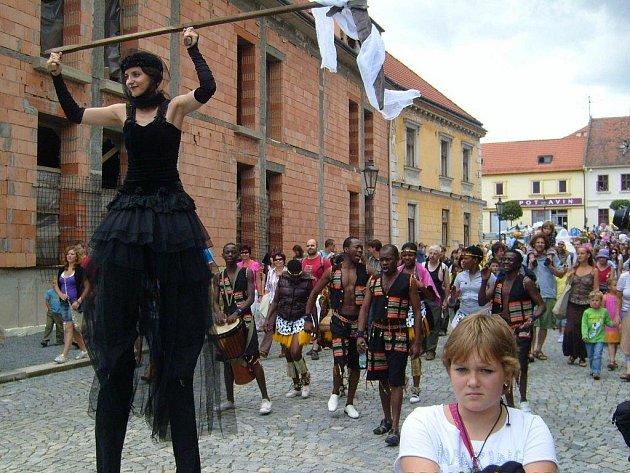 Folkové prázdniny v Náměšti nad Oslavou. Ilustrační foto.