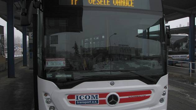 Nové autobusy v Třebíči.