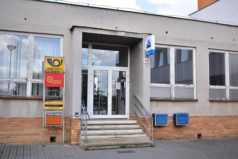 Pošta v Třebíči na Modřínové ulici od 1. prosince 2021 skončí.